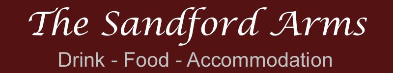 The Sandford Arms Logo